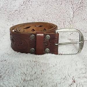 """Hollister leather belt  38 1/2"""" long"""